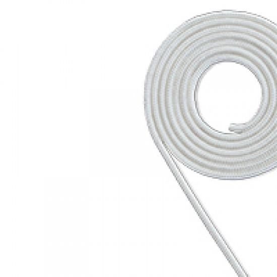 Engine Starter Rope, polyester, Diam. 4mm, white