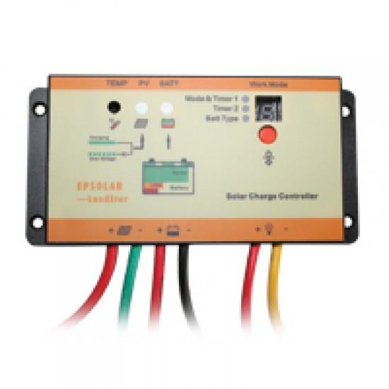 Solar Charge Controller Waterproof IP67 w/LED Indicators 10A 12/24V
