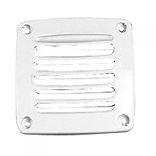 Ventilator Shaft Grill Cover, 92x92mm, White
