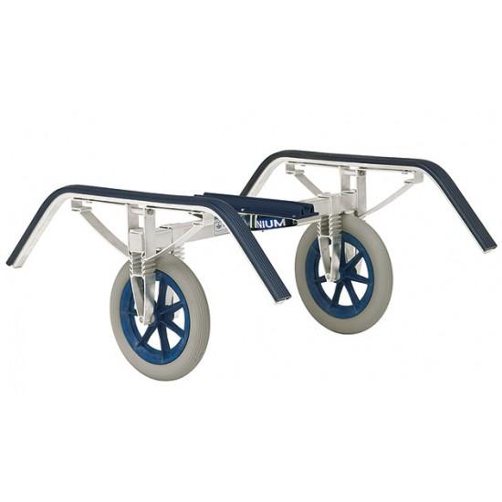 Linder boat cart of aluminium