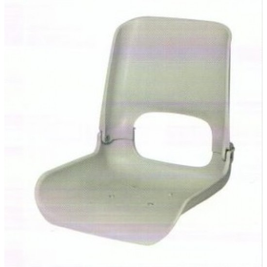 Boat Seat High Back All weather Seat Shell, Grey or Black