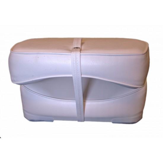 Boat Seat High back folding economy White