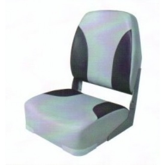 Boat Seat High back Classic folding, choice of colours
