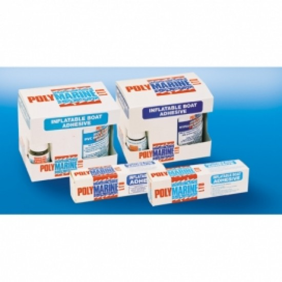 Polymarine Inflatable Boat Adhesive, PVC (3026) 2 Part Adhesive - 250ml Tin & 10ml cure