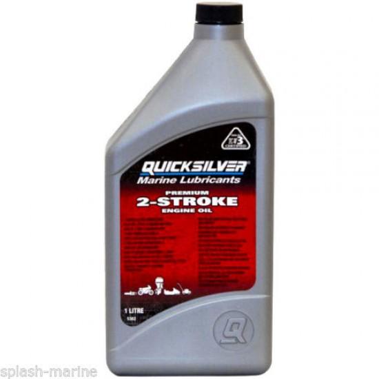 Quicksilver Premium TCW/3 2 Stroke Oil 1 Litre