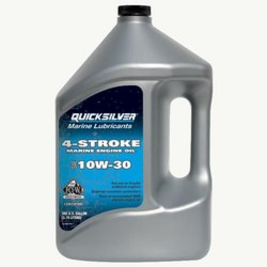 Quicksilver 10W30 4-Stroke Marine Engine Oil. 1ltr