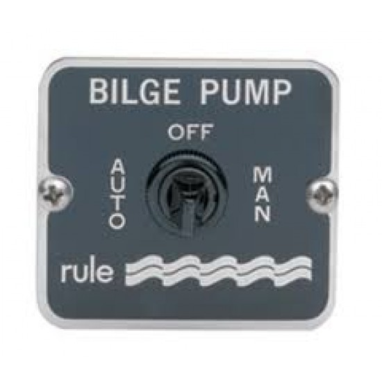 Rule 3-way Bilge Pump Switch 12/24V