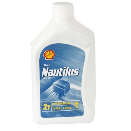 Shell Nautilus Premium 2T outboard oil TC-W3 1ltr