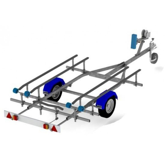 Snipe N3.5-350INF-R Inflatable boat Trailer