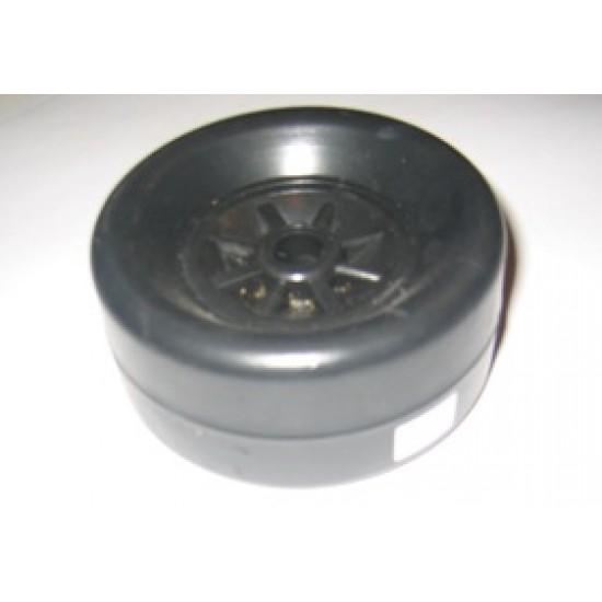 Bilge Roller, Snipe, black p/p centre 105x50 13mm bore