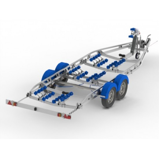 Snipe D6-2600R Heavy Duty Trailer