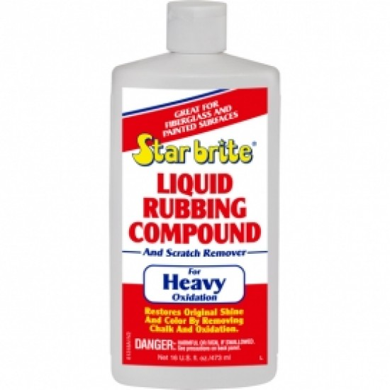 Starbrite Liquid Rubbing Compound Heavy Oxidation 500ML