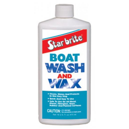 Starbrite Boat Wash & Wax 500ml