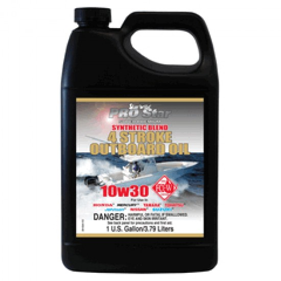 Starbrite Premium Synthetic 4 Stroke oil 10w/30 3.79L