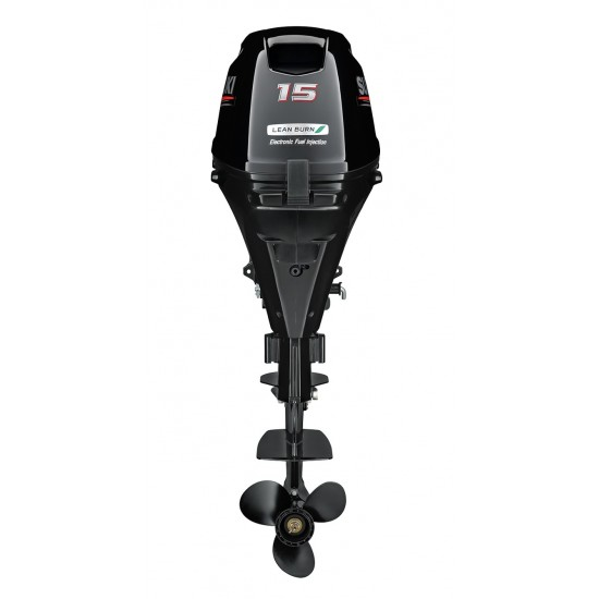 Suzuki DF15AR Outboard Short or Long Shaft Electric start Remote Steer