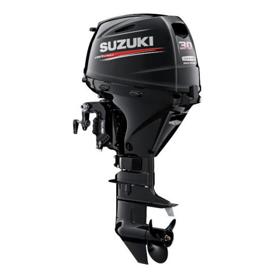 Suzuki DF30ATL Outboard Long Shaft, Electric Start, Remote Steer, Power Tilt