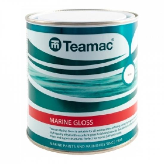 Teamac Marine Gloss Paint 1 Litre
