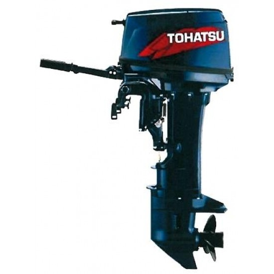 Tohatsu M25H 2-stroke comes with Standard and Long Shaft