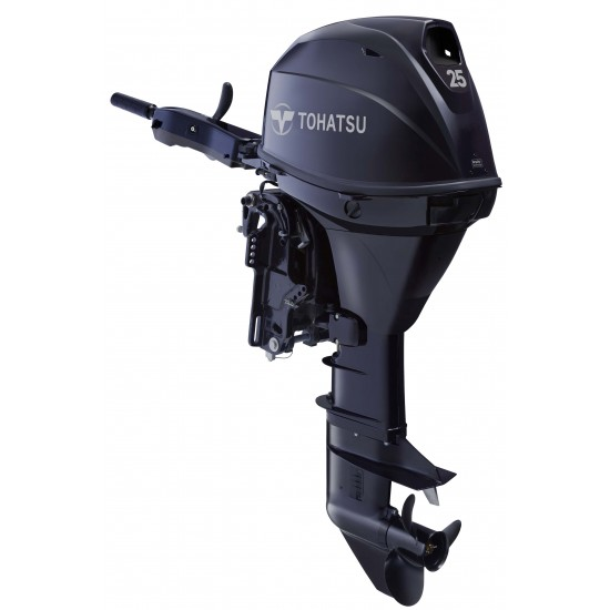 Tohatsu 25HP EFi Pleasure with Remote control electric start and Power Trim & Tilt, Long Shaft
