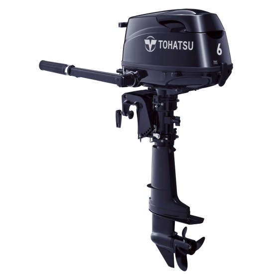 Tohatsu 4-stroke 6HP Short Shaft /Long shaft Transom with Integral tank