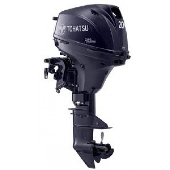 Tohatsu 20HP Pleasure with Remote control electric start and Power Tilt, Standard / Long Shaft