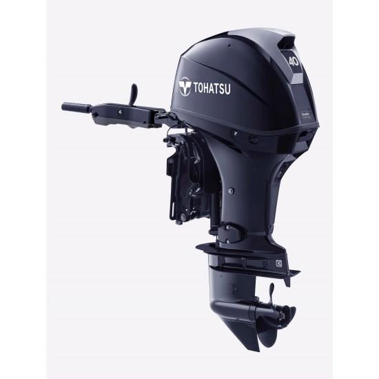 Tohatsu 40HP Electric start, Tiller steer, Power Trim & Tilt,  Long Shaft