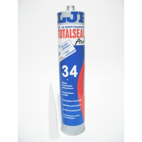 TotalSeal 34 Mastic Polyurethane sealant Black or White