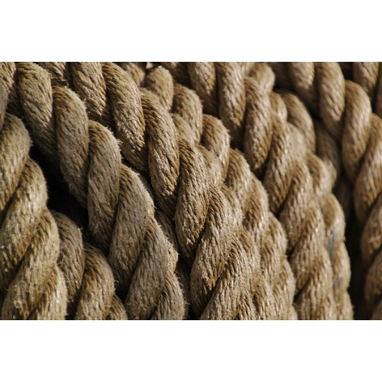 3 Strand Synthetic Hemp 24mm (per meter)