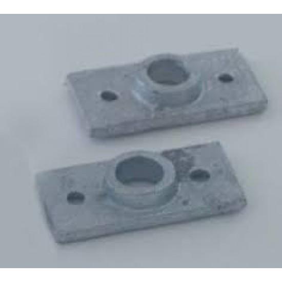 Rowlock Socket Top - Galv 13mm (pair)