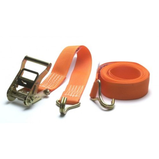 Waveline 50mm wide lightweight Ratchet Strap 7m with claws (2000kg)