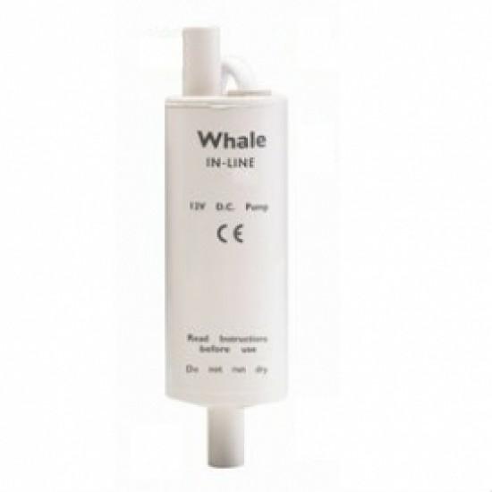 Whale Inline Booster Premium 12V