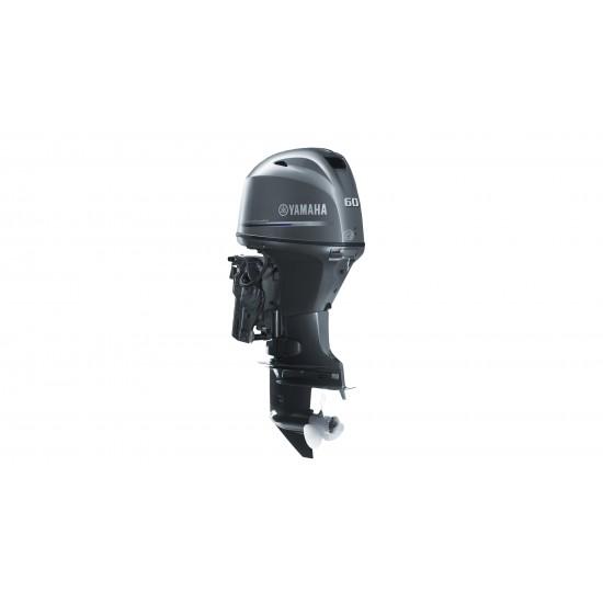 Yamaha 60HP F60FETL, Long Shaft, Remote Control, Electric Start, Power Trim & Tilt