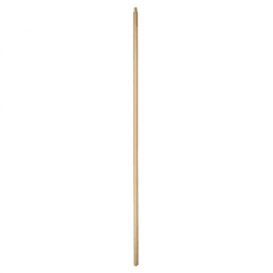 5' Wood Handle Screw Thread End