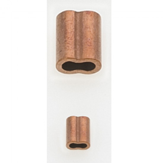 Copper sleeves, Diameter 4mm
