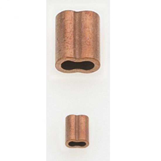 Copper sleeves, Diameter 4mm