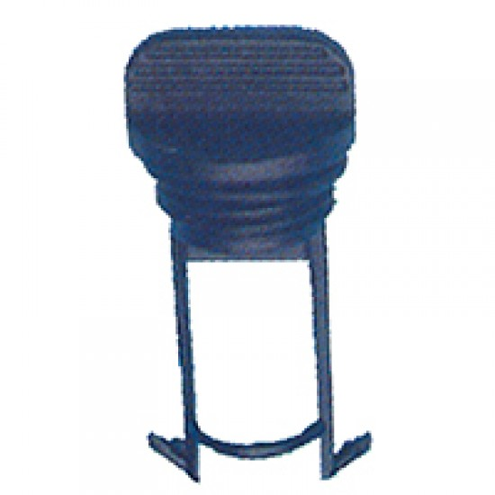 Drain Socket Captive Plug with O-Ring, Black