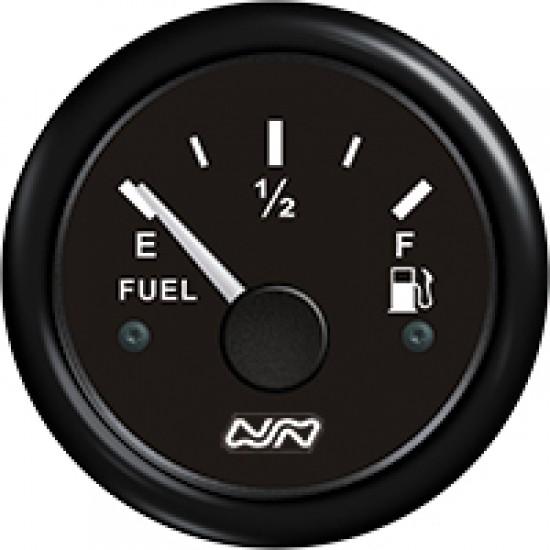 Fuel Level Gauge, 0-190 Ohm