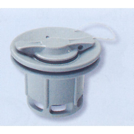 Inflating valve, standard, grey