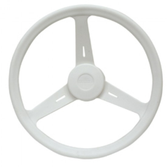 Steering Wheel, ''Classic'', Diameter 350mm, white