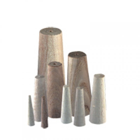 Wooden Plug Set of 9 - Maximum Diameter 35mm