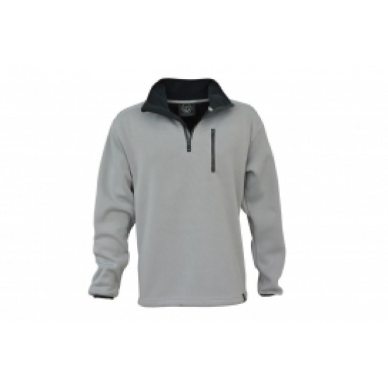Maindeck Knitted Fleece - Light Grey