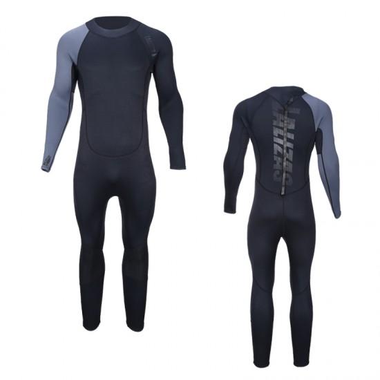Neoprene Full Wetsuit 3:2mm for Men, XL