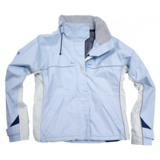 Jacket Inshore sailing breathable, ice blue / ice - M
