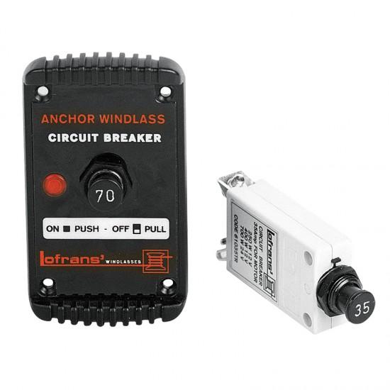 Lofrans Circuit Breaker 70A