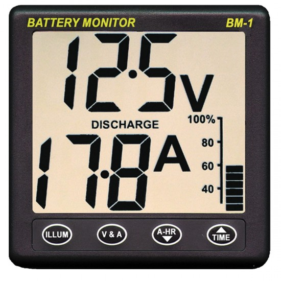 Clipper BM-1 Battery Monitor 24v