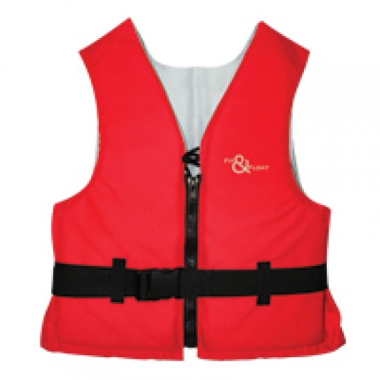 Fit & Float Buoyancy Aid, 50N, ISO 12402-5, Red Child 30-50kg,