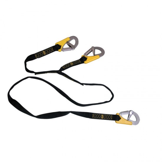 Safety Line Life-Link, triple, ISO 12401, L 200cm