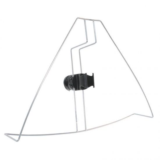 Horseshoe Lifebuoy Stainless Steel Bracket with base for lifebuoy light