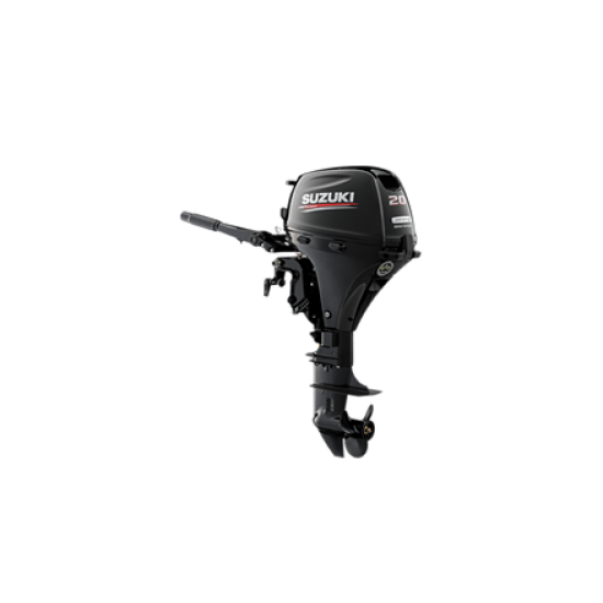 Suzuki DF20AE Outboard Short or Long Shaft Electric Start Tiller Steer