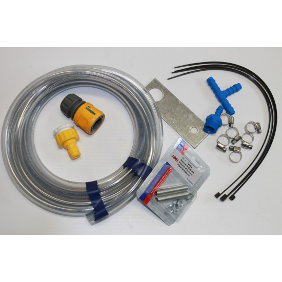 Trailer brake flushing kit